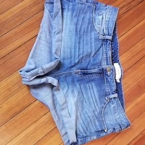 Torrid blue Jean shorts